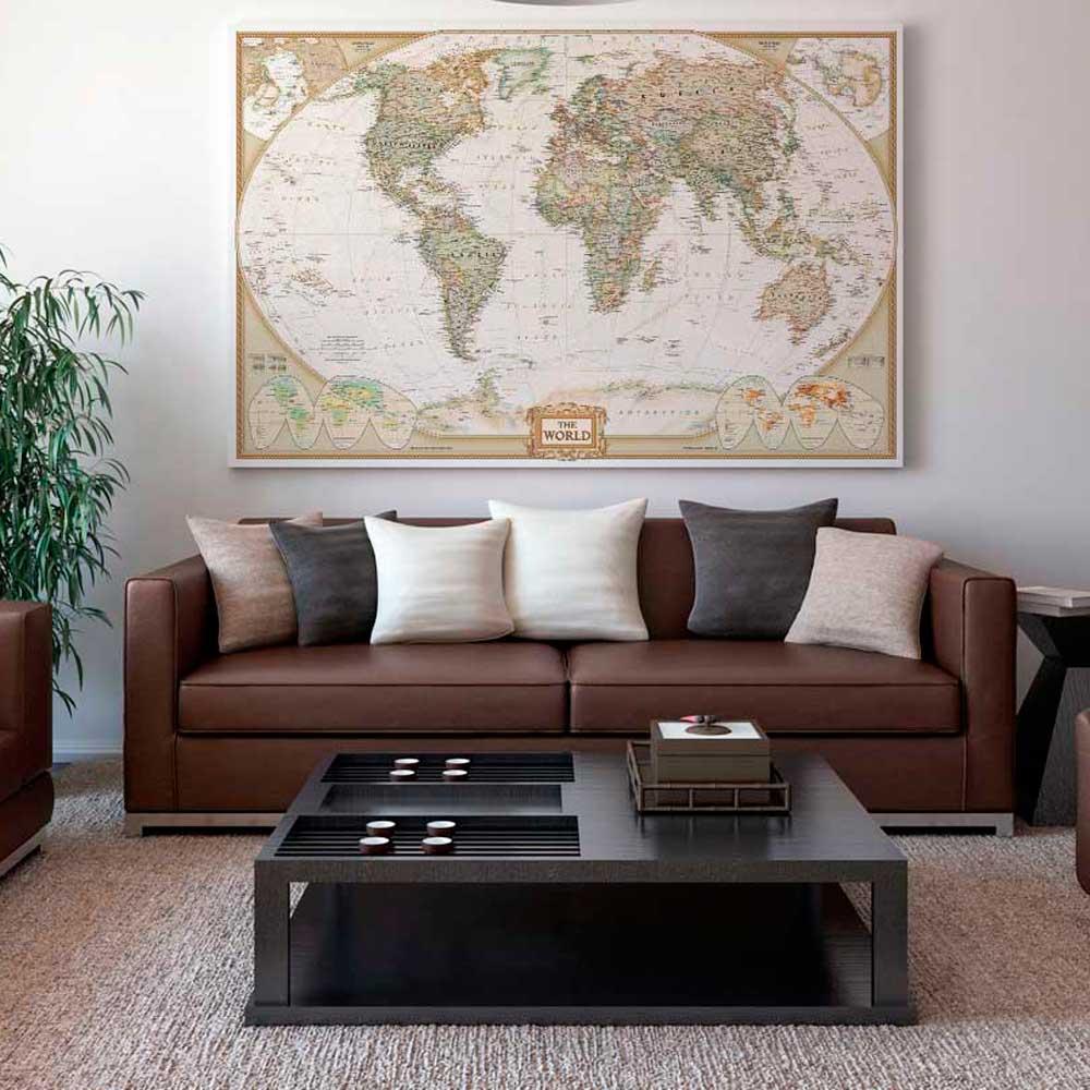 Ιδέες διακόσμησης με χάρτες τοίχου