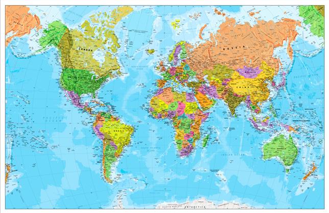 παγκόσμιος χάρτης 184