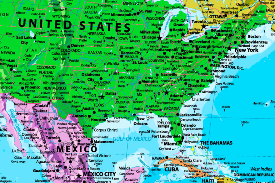 λεπτομέρεια χάρτη