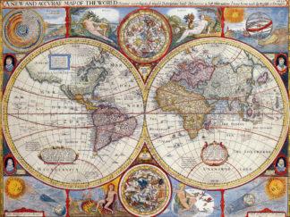 χάρτης αντίκα πόστερ