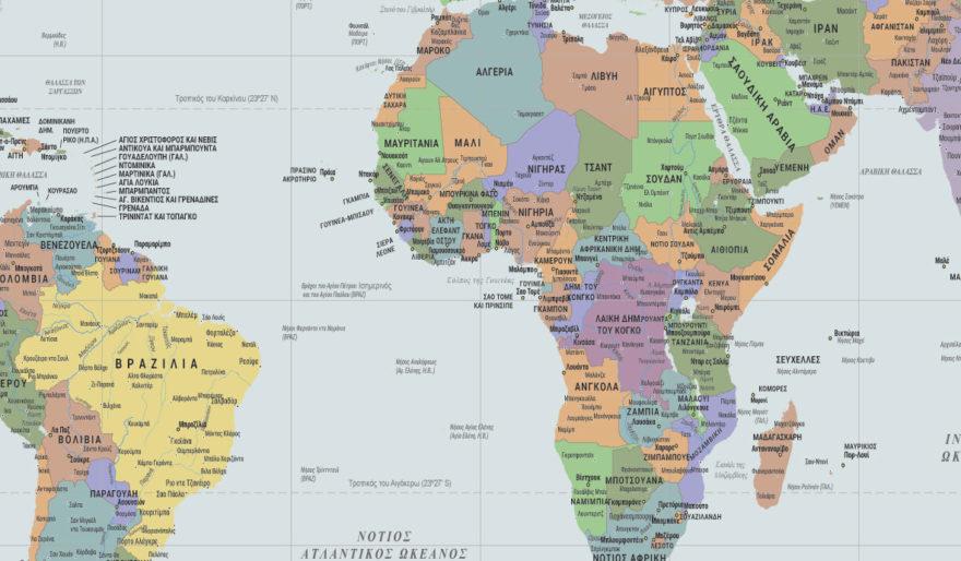 παγκόσμιος χάρτης 918 λεπτομέρεια