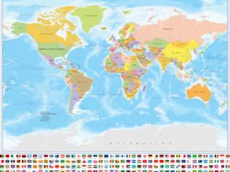παγκόσμιος χάρτης στα Ελληνικά