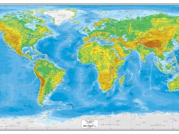 παγκόσμιος γεωφυσικός χάρτης