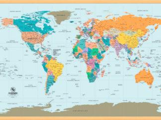 σχολικός παγκόσμιος χάρτης