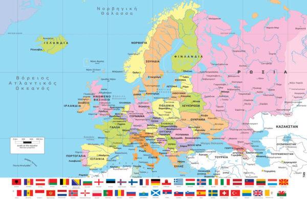 χάρτης Ευρώπης