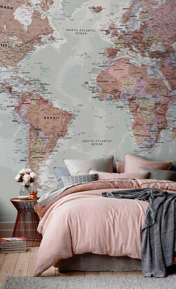 χάρτης ταπετσαρία τοίχου