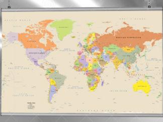 χάρτης με μπάρες αλουμινίου