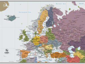 Πολιτικός & οδικός χάρτης Ευρώπης