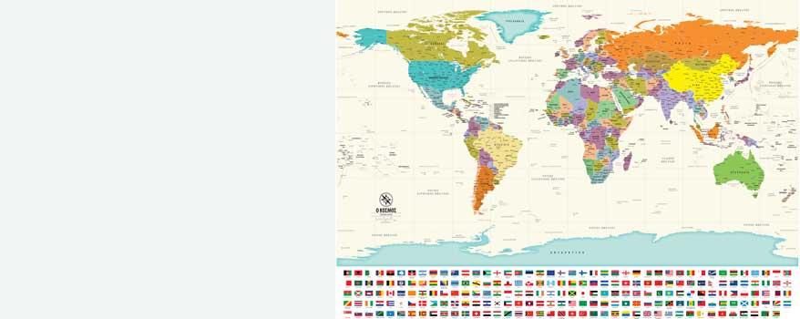 Παγκόσμιοι χάρτες τοίχου