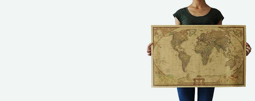 χάρτες πόστερ