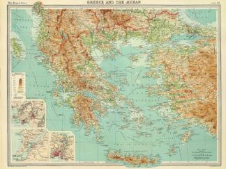ιστορικός χάρτης Ελλάδας
