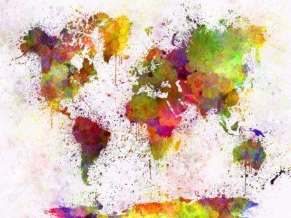 διακοσμητικός χάρτης