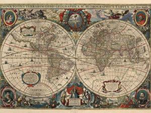 χάρτης vintage