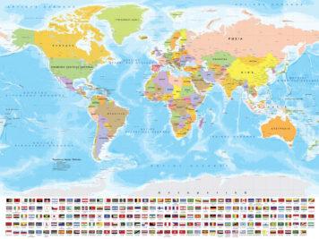 μεγάλος χάρτης παγκόσμιος