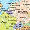 Λεπτομέρεια οδικού χάρτη Ευρώπης