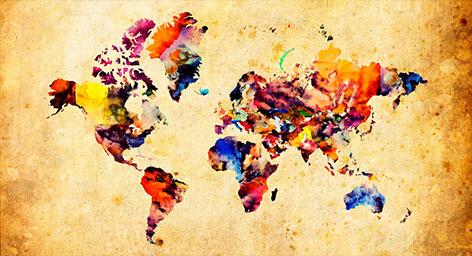 διακοσμητικοί χάρτες τοίχου