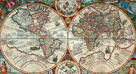 χάρτες αντίκα vintage