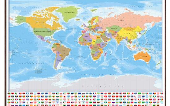 Παγκόσμιος Ελληνικά με σημαίες