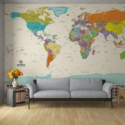 Χάρτες ταπετσαρία τοίχου
