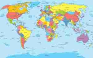 Παγκόσμιος χάρτης πολιτικός στα Ελληνικά . Παγκόσμιος πολιτικός & γεωφυσικός χάρτης. Πολύ λεπτομερής & διακοσμητικός χάρτης πολιτικός. (191). Παραγγελία σε ότι μέγεθος και υλικό θέλετε.