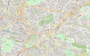 Οδικός χάρτης Αθήνας